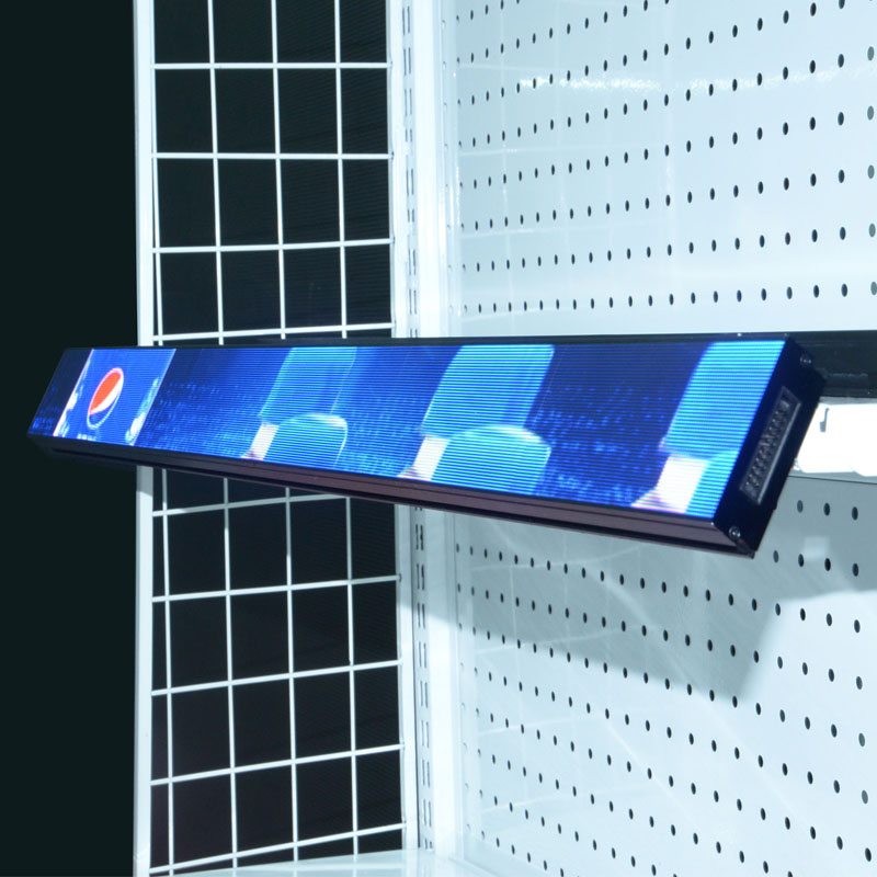 Hot-selling New Item Small Pixel Pitch COB Shelf Screen P1.25 Used In Supermarket/Clubs/Store