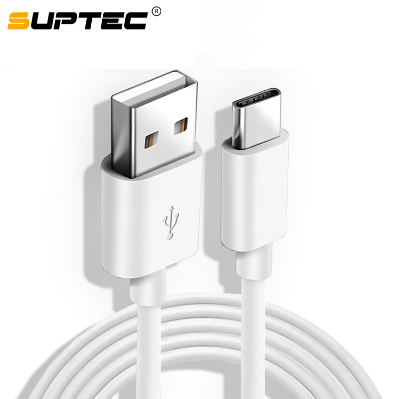 SUPTEC USB Type C Cable for Samsung S9 S8 Fast Data Sync USB-C Charging Wire Phone USB Charger Cord For Xiaomi Mi9 Redmi Note 7(China)