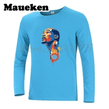 Men Autumn Winter Kevin Durant 35 KD boy  Finals MVP Long Sleeve Tee Top Quality T SHIRT Fashion T-shirt W1101158