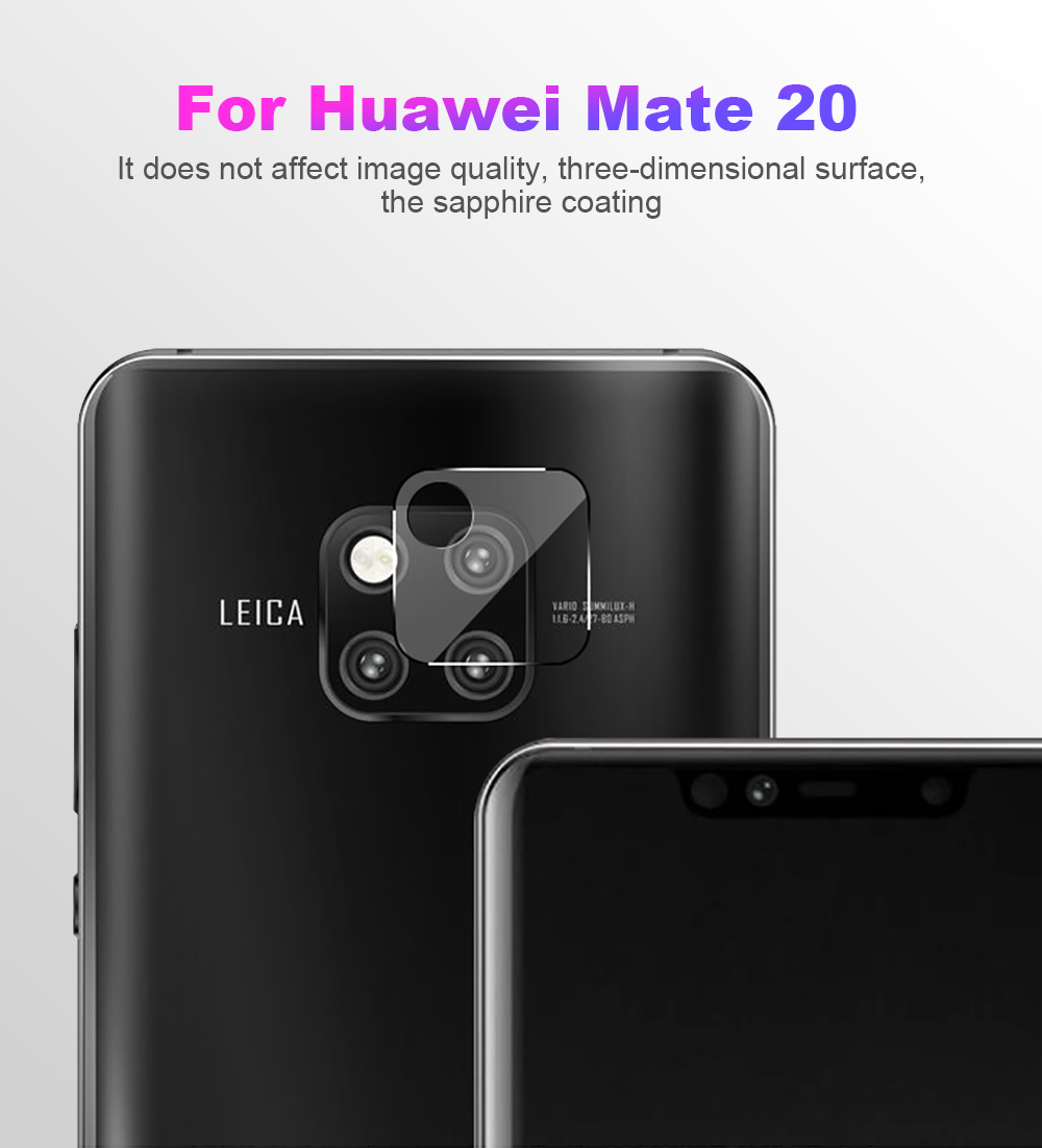 US $0 68 40% OFF|NYFundas for huawei mate 20 lite X pro Back Camera Lens  Protector HD Tempered Glass For huawei p20 lite pro film cristal templad-in
