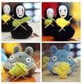 Frete grátis Totoro malha linda forma de brinquedos de pelúcia de presente de Natal