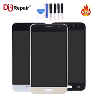 AAA 4 7 Black LCD Display Touch Screen Digitizer Assembly For Samsung Galaxy J1 J120 J120F