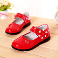 child leather shoes spring and autumn princess single shoes flat with children girl dance shoes genuine leather girl's shoes