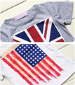 hot sell boy colthes  kids clothing set,Children's Costume With British Flag UK 3Pcs(T-Shirts+Jeans) Boys T-Shirts YAZ033