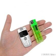 Mini X6 mignon voiture clé téléphone Mobile double Sim magique voix Bluetooth Dialer Support russe clavier MP3 enregistreur enfants téléphone portable