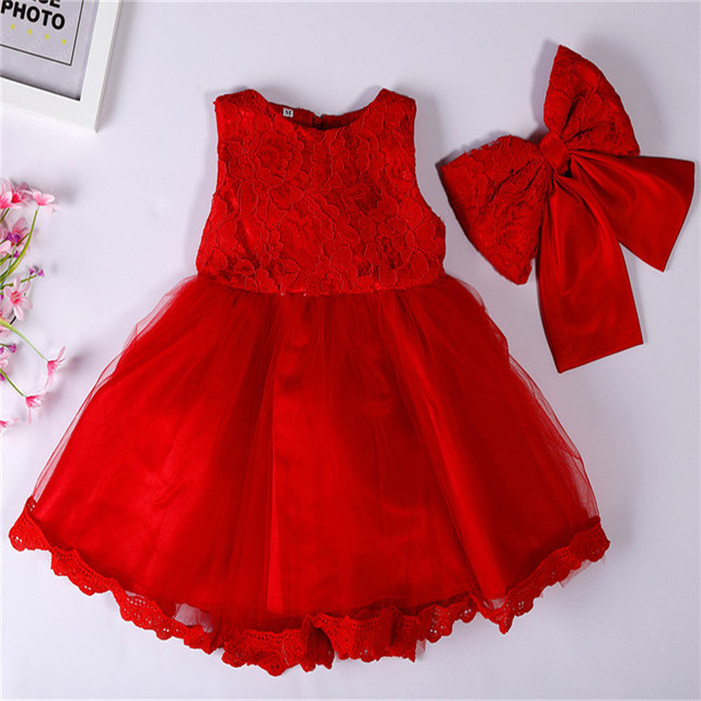 Baby Girl Dress0 2 Year Old Full Moon Dress Infant For Baptism Christening First Birthday Party Toddler Girls Clothes
