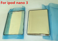 Silber Farbe Metall Zurück Gehäuse Abdeckung Zurück Batterie Fall Shell Für iPod nano 3 4gb 8gb-in Handyhüllen aus Handys & Telekommunikation bei