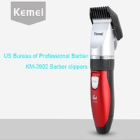 KEMEI 2016 New Fashion Professional Rechargeable Electric Hair Trimmer Adjustable Length Men S Beard Haircut Machine