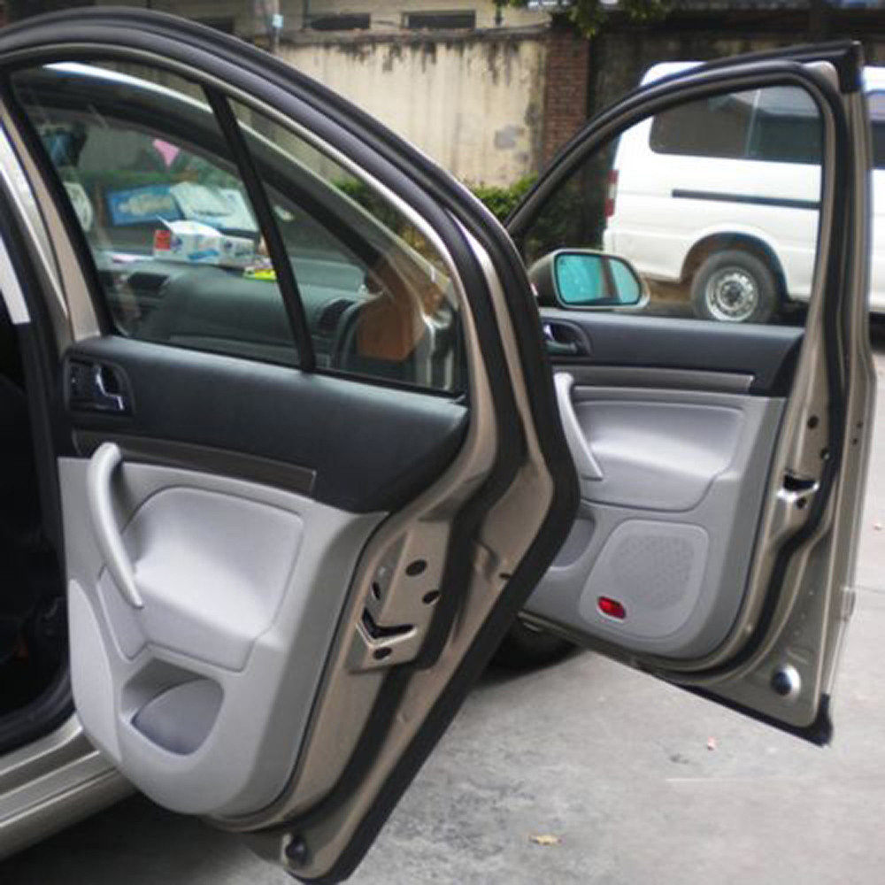 Trend Mark 5m Auto Door Scratch Strip Protector Edge Adhesives Sealants D-type Car Weatherstrip Accesorios Automovil Araba Aksesuar