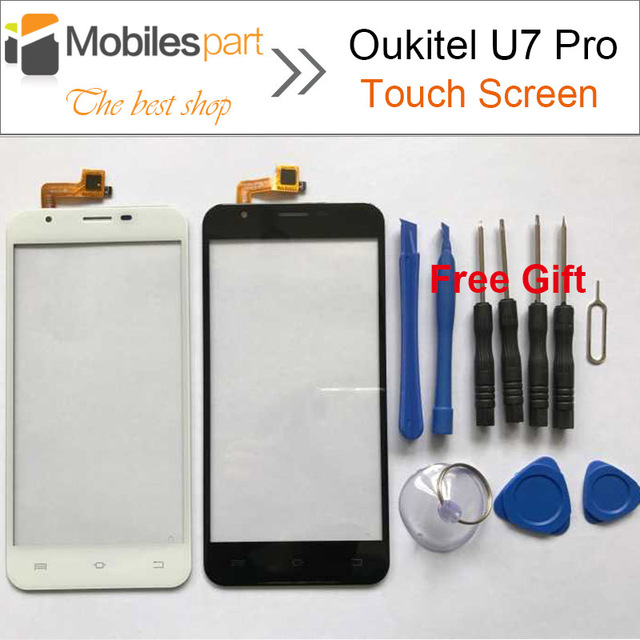 Oukitel U7 Pro Touch Screen 100% Original  Panel Digitizer Replacement Touch Display Screen For Oukitel U7 Pro Smartphone