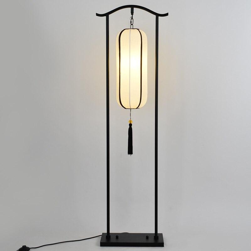 Us 1980 Kreatywne Oświetlenie Lampa Podłogowa Chiński Styl Klasyczny żelaza Tkaniny Salon Sypialnia Jadalnia Pokój Retro Lampy Podłogowe Biurko