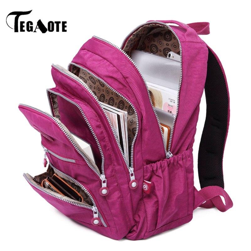 TEGAOTE Backpacks Women School Backpack for Teenage Girls Female Mochilas Feminina Mujer Laptop Bagpack Travel Bags Sac A DosTEGAOTE Backpacks Women School Backpack for Teenage Girls Female Mochilas Feminina Mujer Laptop Bagpack Travel Bags Sac A Dos