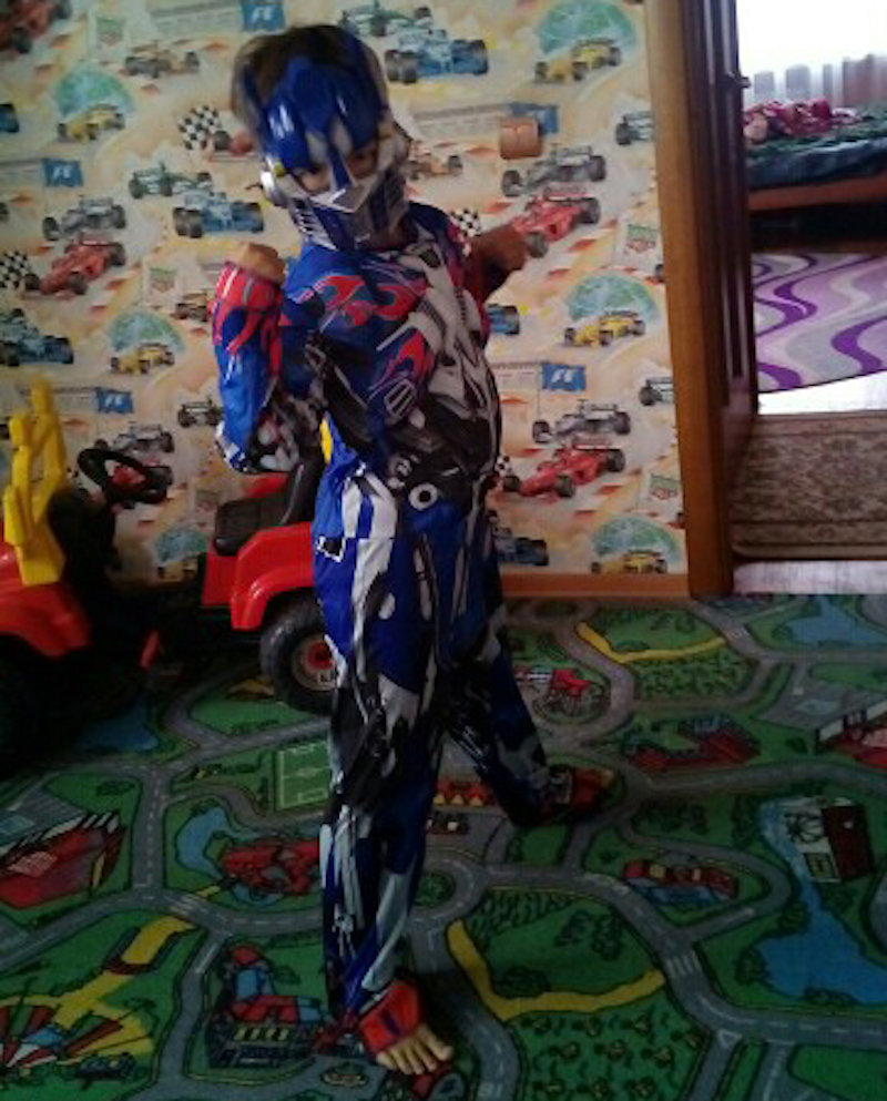 Transformer Cosplay Costume For Kids