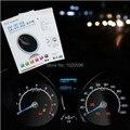 Painel de controle placa instrumento Caso tela de cinema de etiqueta para Ford new Fiesta Ecosport carro 2009 2012 2013 2014 2015