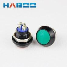 1 шт. HABOO напрямую с фабрики Мгновенный кнопочный переключатель высокое качество мини металла переключатель