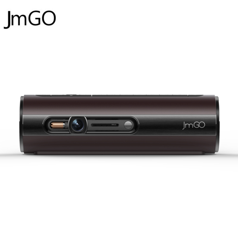 Original jmgo p1 mini projector 3d dlp portable pocket for Smart pocket projector