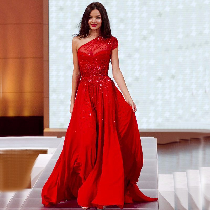 Popular Red Beaded Dresses-Buy Cheap Red Beaded Dresses lots from ...