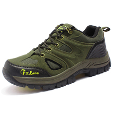 2017 сезон: весна–лето Мужская Спортивная обувь прогулочная дышащая мужская альпинизм сапоги коричневый/зеленый мужские Спортивная обувь кроссовки