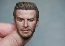 цена на 1/6 Scale David Beckham Head Sculpt 2.0 For 12