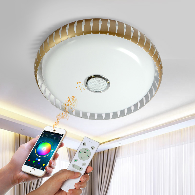 Ceiling Lights LED Modern Lights For Living Room study room Guest room Bluetooth music ceiling light Veayas Ceiling Lights LED Modern Lights For Living Room study room Guest room Bluetooth music ceiling light Veayas