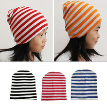 Cotton Warm Winter Autumn Newborn Crochet Baby Hat Girls Boys Cap Children Unisex Beanie Striped Infant Knitted Toddlers Hot