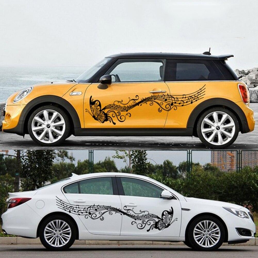 Car body sticker design for sale - Butterfly Auto Sticker