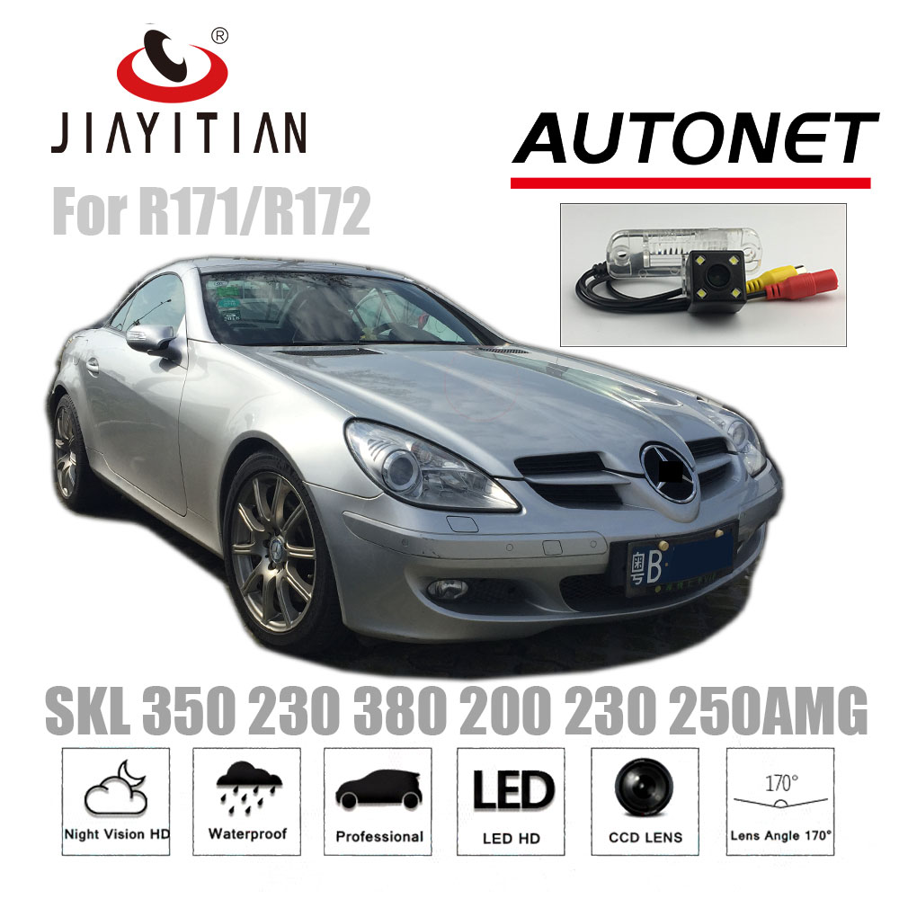 JiaYiTian Rear Camera For Mercedes Benz SLK 350 SLK320 SLK300 SLK280 SLK230 Ccd Night Vision/License Plate Camera Backup Camera