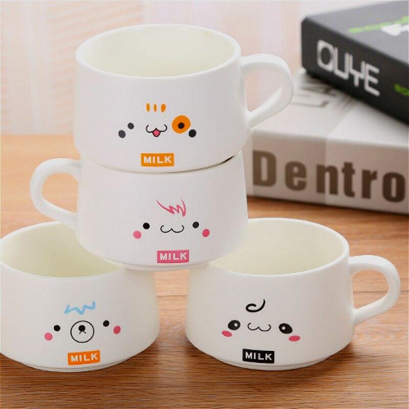 Conjunto xícara de café 200 ML fosco caneca de cerâmica caneca de café jogo de café de presente personalizado 4 copos de presente de rack de madeira - 5