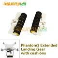 1 пара Расширенный Шасси Удлиненное Штатив с Антивирус столкновения Подушка Стабилизаторы 3D Напечатаны для DJI Phantom 3