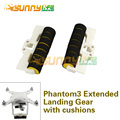 1pair Extended Landing Gear Elongate Tripod with Anti-collision Cushion Stabilizers 3D Printed for DJI Phantom 3