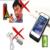2200 mah externa recarregável bateria de backup charger case capa power pack banco para apple iphone 5 5s se 8 cores disponíveis