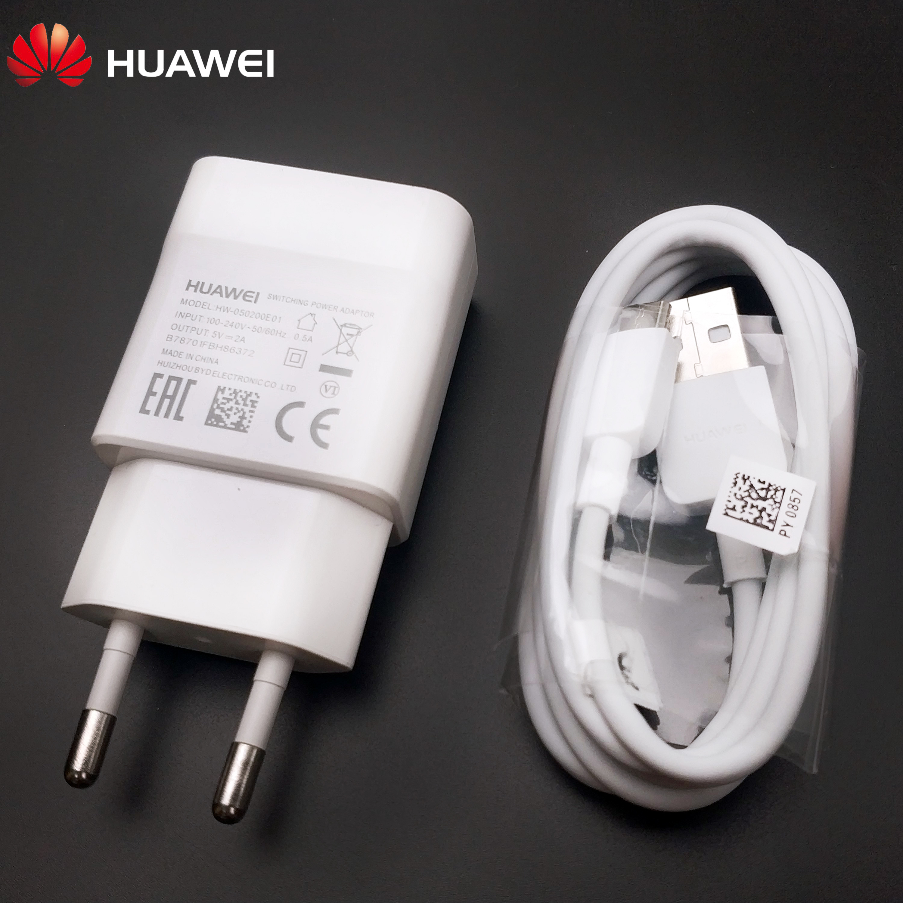Huawei P smart Charger <font><b>original</b></font> for <font><b>Honor</b></font> 6A 6X 6C 7X 7A 7C 8 <font><b>9</b></font> 5A P8 P9 <font><b>lite</b></font> mini 2017 Mobile phone 2A eu Travel charge adapter image