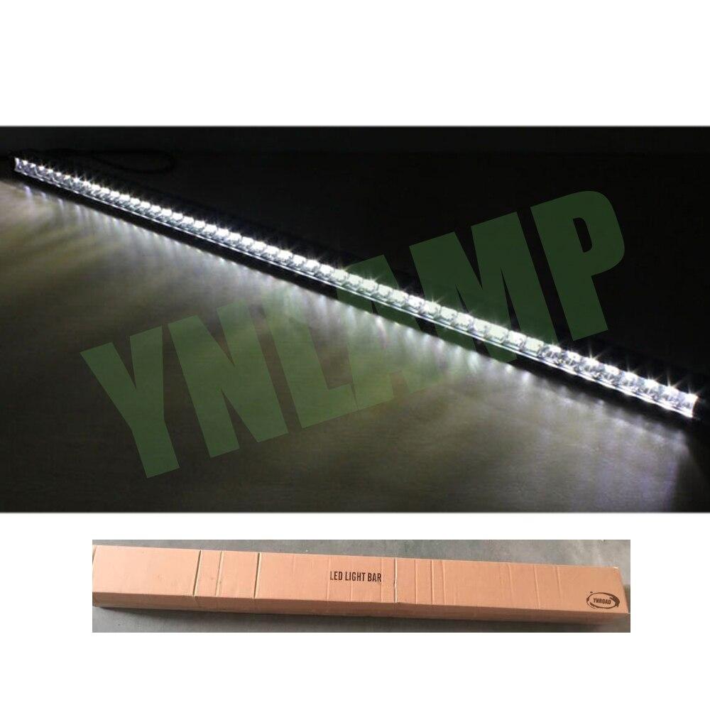 YNROAD 250w 50inch μονής σειρά Led Light Bar 50x5W - Φώτα αυτοκινήτων - Φωτογραφία 5
