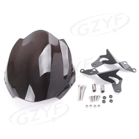 For DUCATI 696 Modified model Windscreen Windshield Motorcycle Parts Accessories Black
