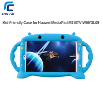 Chinfail Silicone Case For Huawei MediaPad M3 BTV W09 BTV DL09 8 4 Inch Shockproof Soft