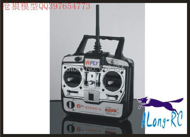 free shipping sellRC airplane /model hobby/ spare part WLFY radio 2.4G 6ch transmitter and 6CH recivers WFT06X-A
