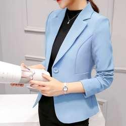 Большие размеры 2XL! женские пиджаки работа в офисе носить с длинным рукавом костюмы для маленьких Кардиган деловой Блейзер Куртки Для
