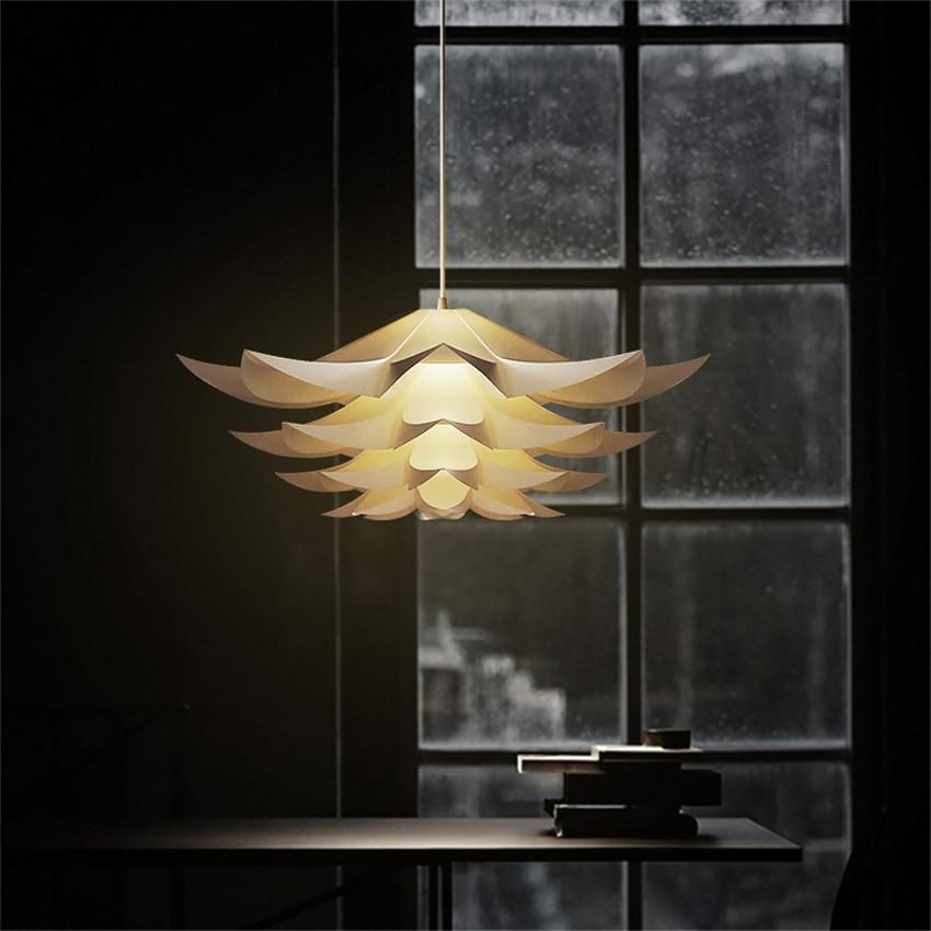 Modern Minimalist Lily Led Pendant Lights Flower Lighting Living Room Bedroom Pendant Light Office Study Home Decor Hang Lamp