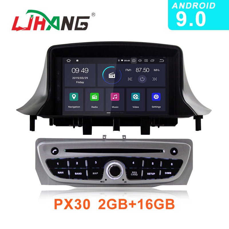 LJHANG 1Din Android 9 0 Car DVD Player For Renault Megane 3 Fluence 2009 2015 Multimedia