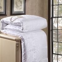 100% natürliche/Maulbeerseide Tröster für Winter/sommer Twin Königin König Full size Duvet/Decke/Quilt weiß/rosa/beige Füllstoff