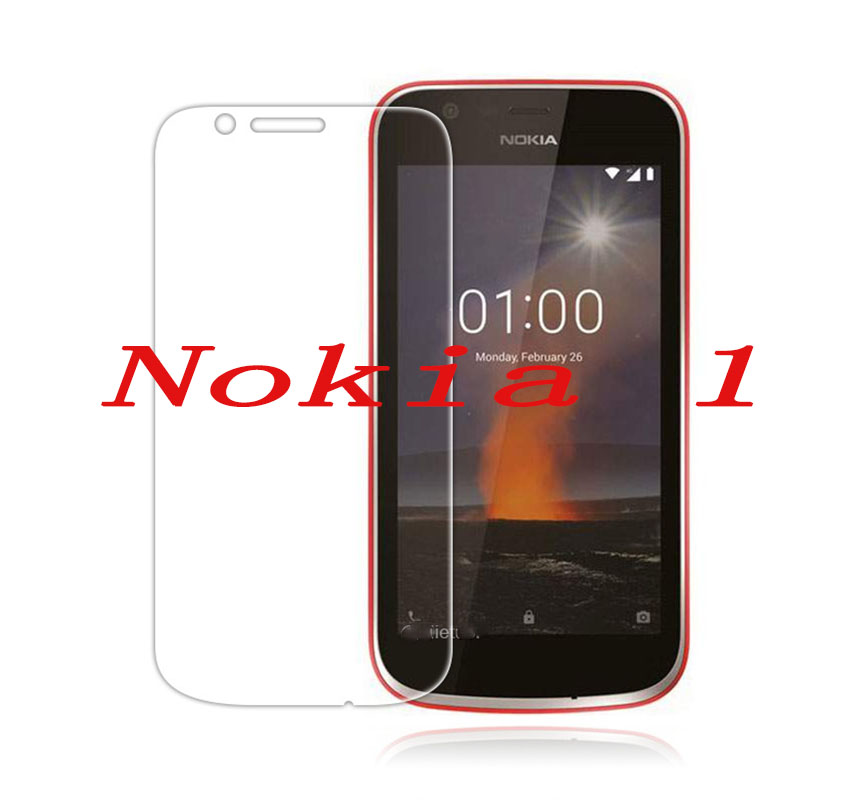2PCS Smartphone Tempered Glass  9H Explosion-proof Protective Film Screen Protector Mobile Phone For Nokia 1 One Nokia1