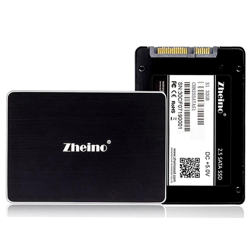 Zheino S1 2.5 SSD SATA SATA2 SATA3 32GB 64GB 128GB 256GB 512GB Internal Solid Disk Drives MLC NOT TLC For PC Laptop Desktop