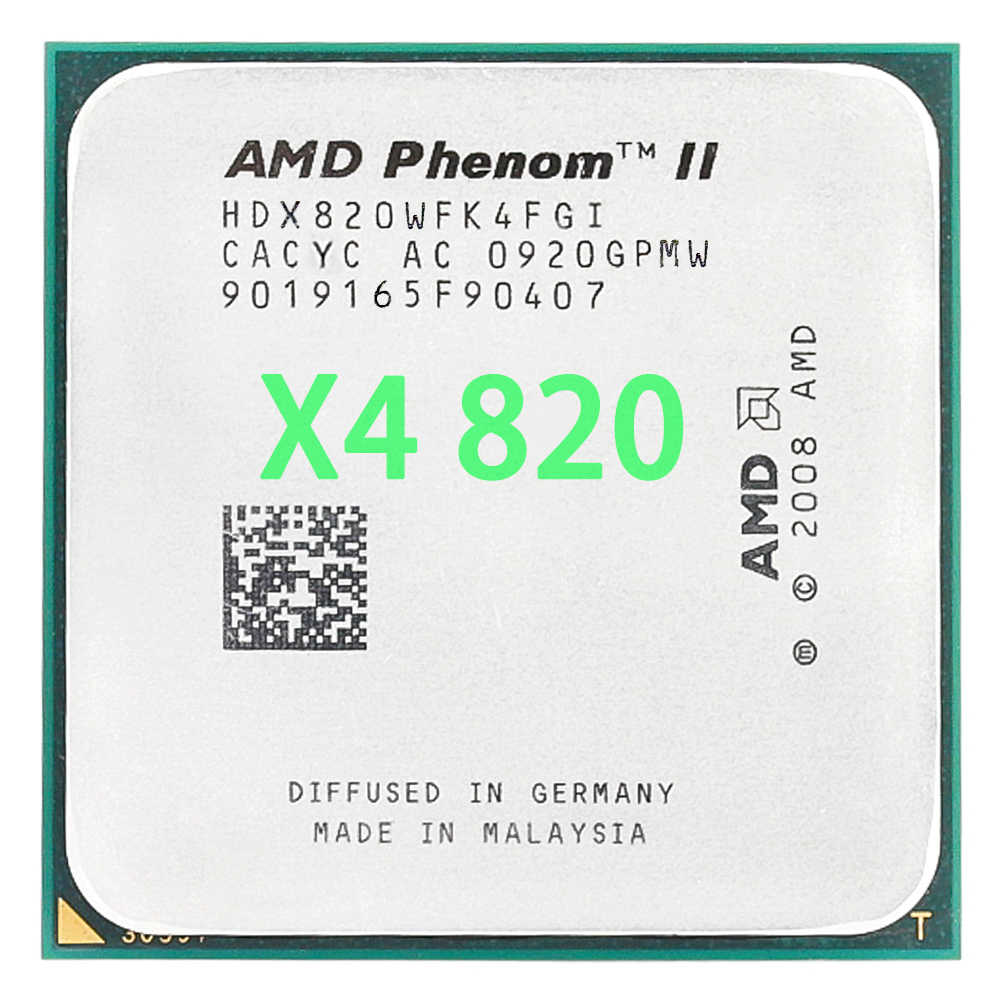 Amd Phenom Ii X4 820 2 8ghz Quad Core Cpu Processor Hdx820wfk4fgi Socket Am3 Aliexpress