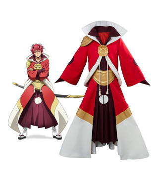 Tensei Shitara Slime Datta Ken Benimaru Cosplay Costume That Time I Got Reincarnated as a Slime Flare Lord Cosplay Costume