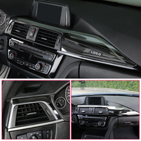 car air outlet For BMW F30 3 Series 2013- Car Styling Car AC Air Conditioner Vent Outlet Decoration interior Cover Sticker Auto Accessories (2)
