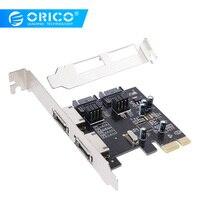 ORICO PCI E to SATA3.0 & eSATA Expansion Card ASM1061 Chip PCI E X1 to SATA and ESATA Support 6Gbps NCQ Protocol