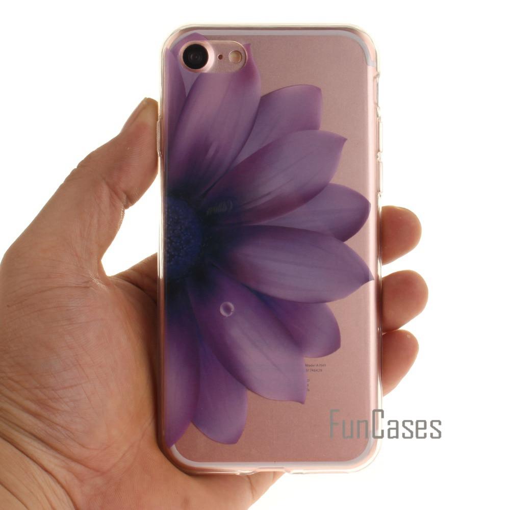 TPU IMD для Coque iPhone 7 Чехол для Fundas iPhone 7 Чехол 4.7 дюймов phibe дешевые aiphon ячейки fhone pouzdra iPohone