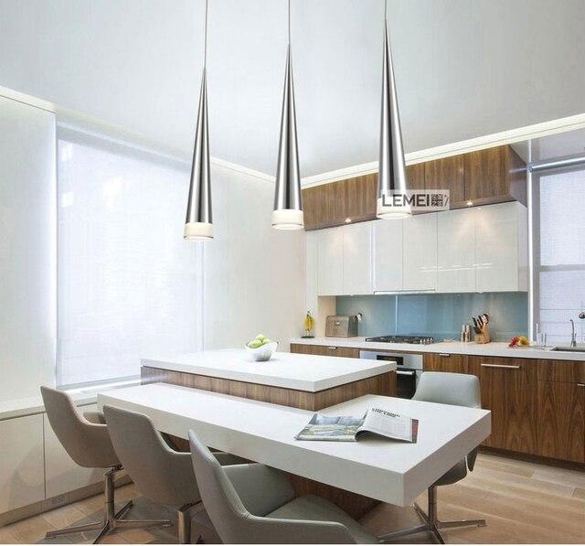 Moderne Led Konische Pendelleuchte Aluminium Metall Home Industriebeleuchtung Hangen Lampe Dining Wohnzimmer Bar