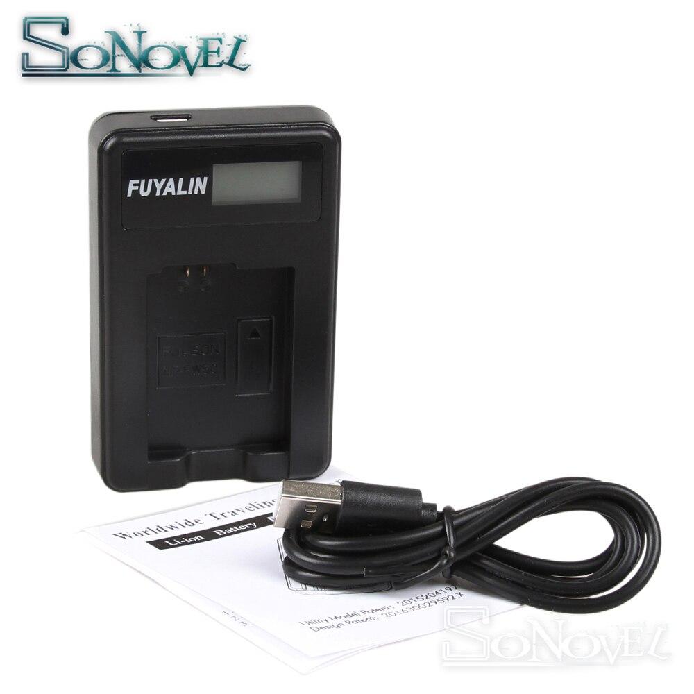 USB LCD Battery Charger EN-EL3a EN-EL3e For Nikon ENEL3A ENEL3E D700 D300S D300 D200 D100 D90 D80 D70S D70 D50 MH-18A