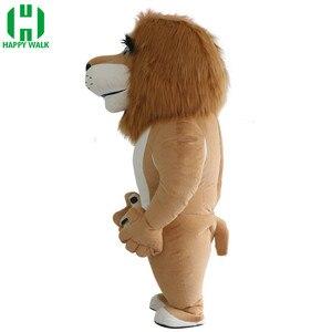 Image 2 - Traje de Mascota de León inflable de nuevo estilo 2,6 m 3m, traje de Mascota de León para publicidad personalizado adecuado para adultos de 1,7 m a 1,95 m